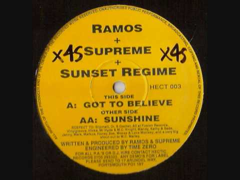RAMOS, SUPREME & SUNSET REGIME  -  GOT TO BELIEVE