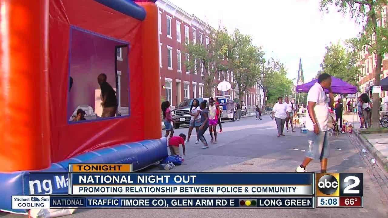 National Night Out brings out community in Baltimore area