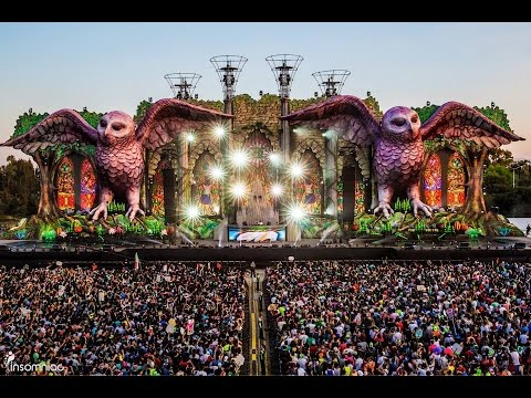 Ceremonia KINETICKATHEDRAL EDC Mexico 2015 #EDCMX - YouTube