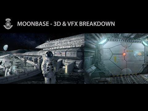 HGF Ostrava | Sci-fi Promofilm I. - Mining Base On The Moon (3D & VFX Breakdown)