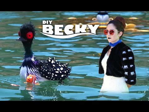 DIY Easy Halloween Costume: Becky From Finding Dory    Lucykiins