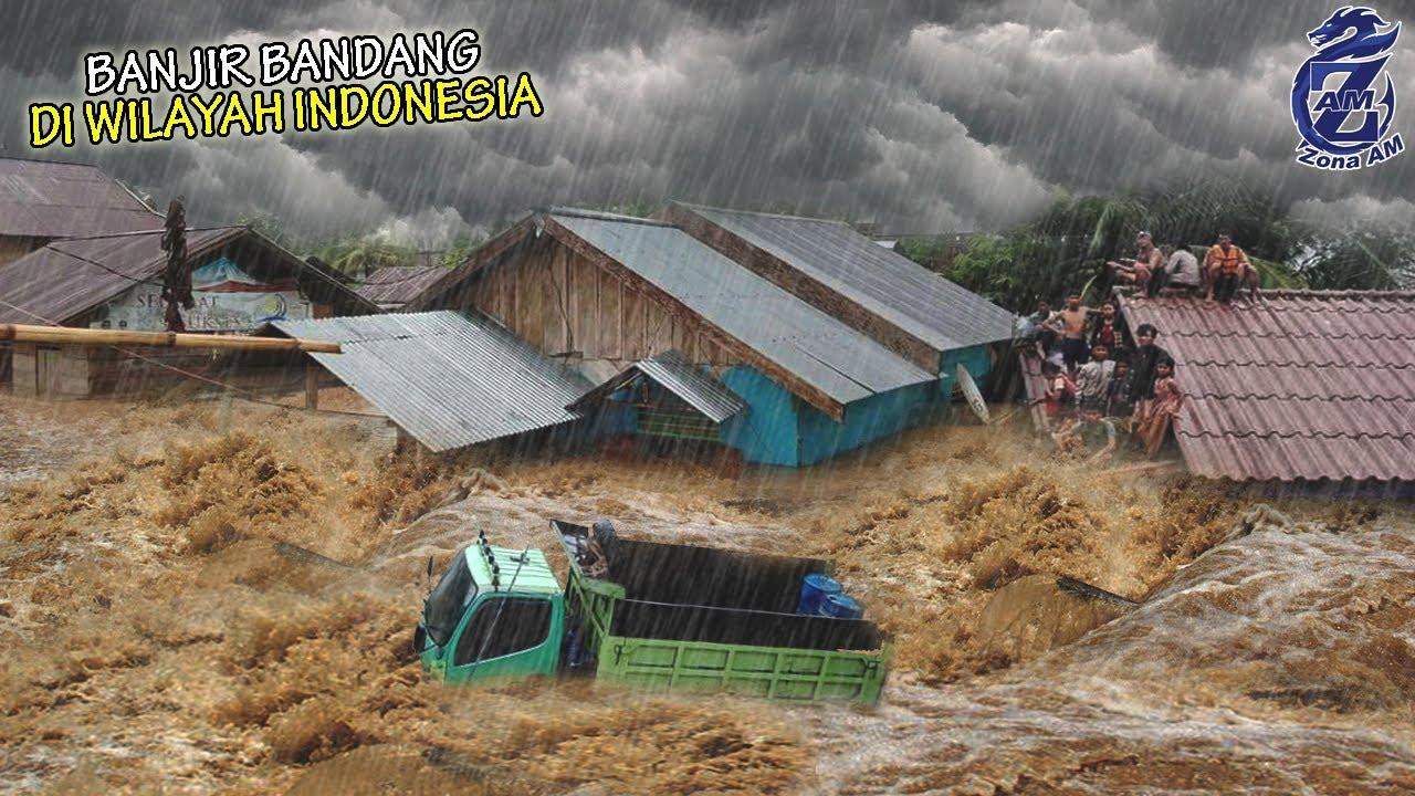 INDONESIA SIAGA! Air Lumpur Tiba² Meluber Tenggelamkan Rumah² di Jawa Hingga Papua, Pertanda Apa?