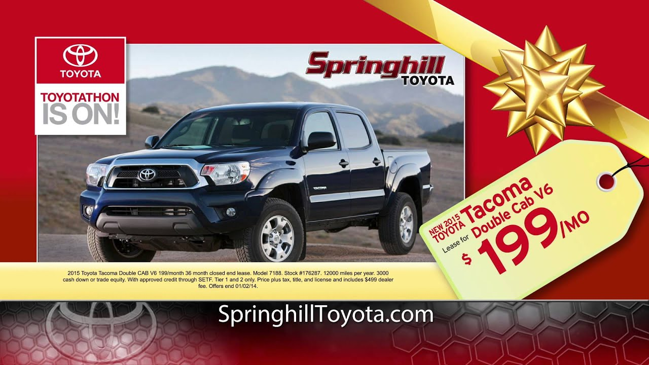 Toyotathon is on at springhill toyota in mobile al
