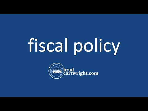 Fiscal Policy Unit:  Introduction and Overview
