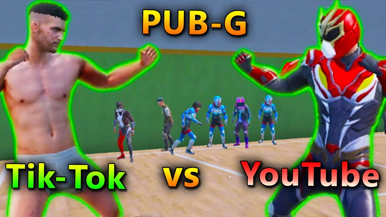 Tik-Tok vs YouTube in PUBG | PUBG Mobile Funny Gameplay | Bollywood Gaming