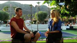 Samantha Steele Interview with USC tennis player, Ben Lankenau