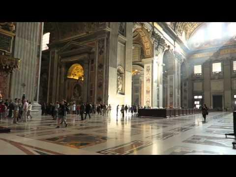 A casual walk inside St Peter