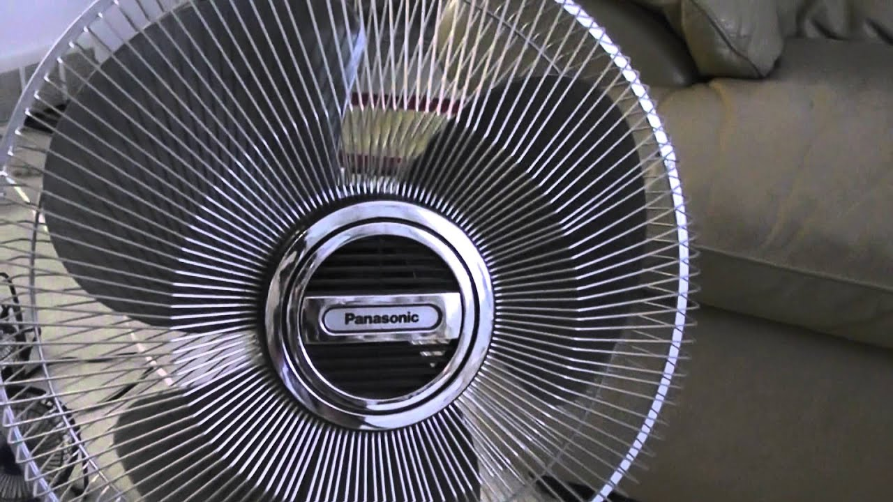 Panasonic Table Fan : Quot panasonic oscillating table fan with way oscillation