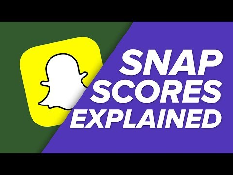 How do you make your snap score go up on snapchat