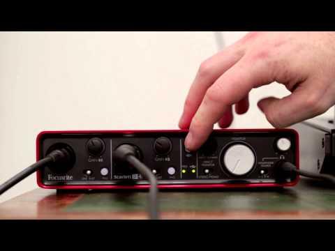 Focusrite // Scarlett 2i4 audio interface tutorial