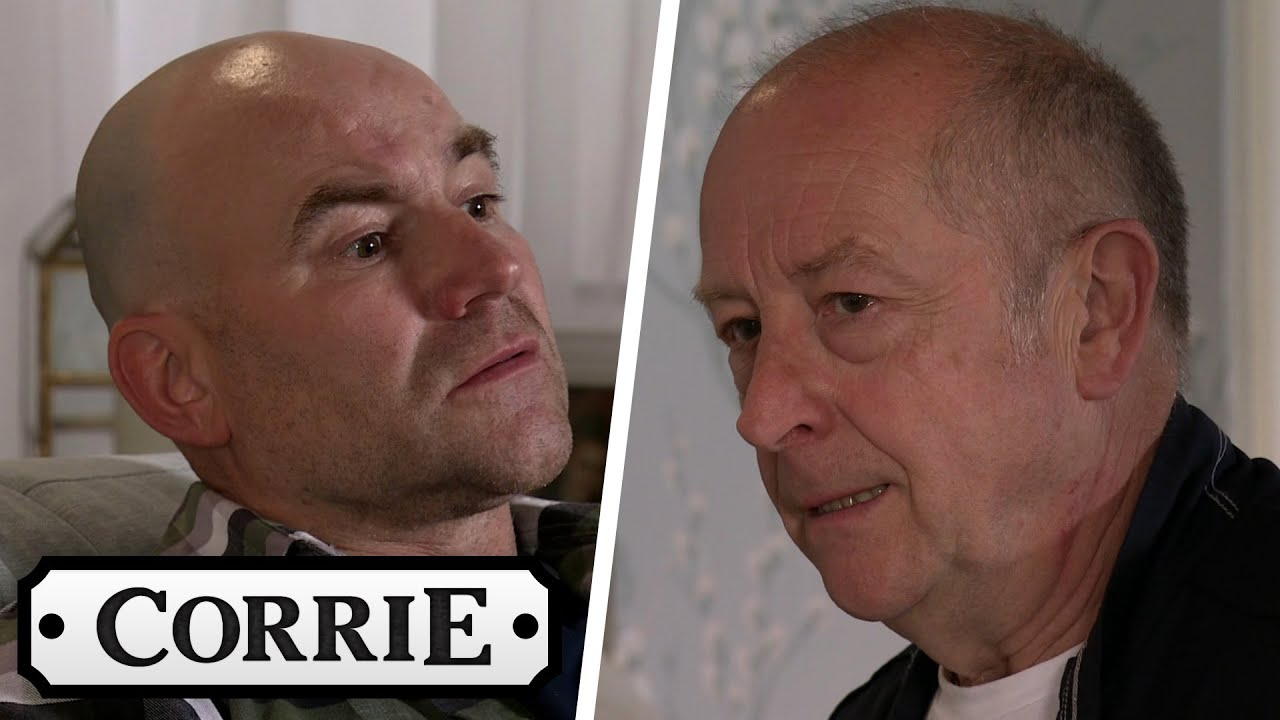Tim Wants to Know Why Geoff Lied About Seeing Elaine | Coronation Street