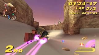 Star Wars: Super Bombad Racing (PS2) walkthrough - Podrace
