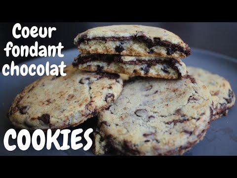 cookies-cœur-fondant-chocolat