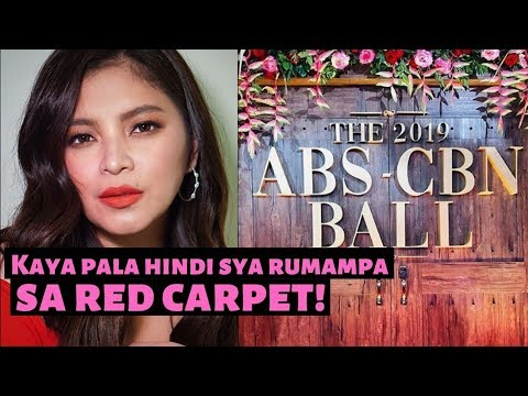 ANGEL LOCSIN REVEALS REASON why She DiD Not Attend the ABS CBN BALL 2019