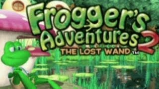CGR Undertow - FROGGER'S ADVENTURES 2 : THE LOST WAND review for Game Boy Advance