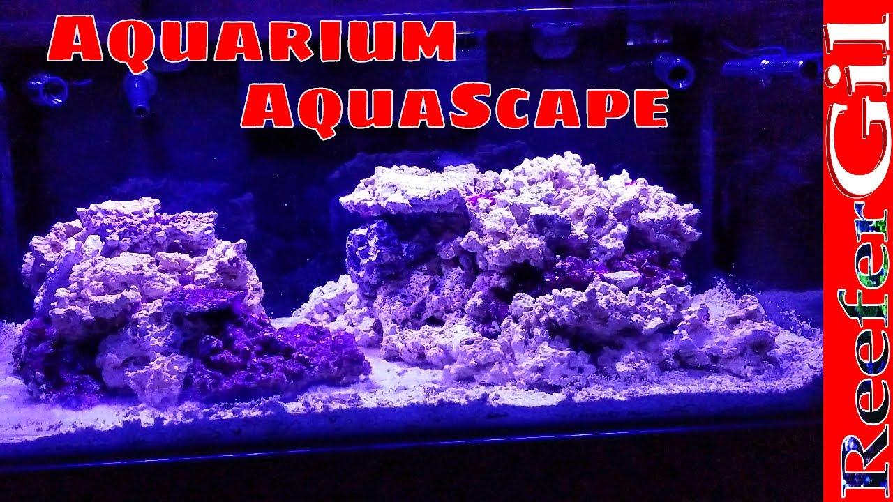 Build Series Eps 20 Reef Aquarium Aquascape Youtube