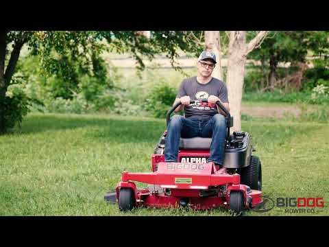BigDog® Offers Commercial Quality Zero Turn Mowers For Homeowners