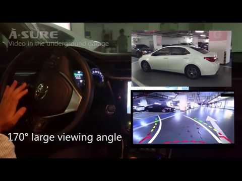 A-Sure Dynamic Parking Track Car Rear View Reversing Camera Night Vision