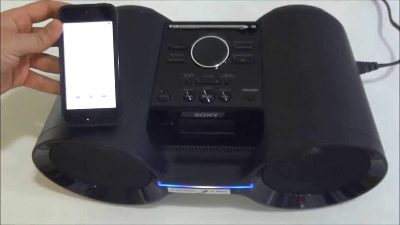 radio cu bluetooth si nfc sony zs bty52 youtube. Black Bedroom Furniture Sets. Home Design Ideas