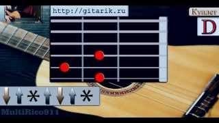 Кино - Странная сказка (урок на гитаре)