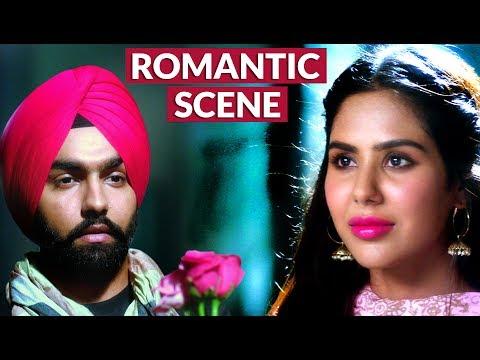 Sonam Bajwa Proposes to Ammy Virk | Romantic Scene Nikka Zaildar | Punjabi Film Scene HD