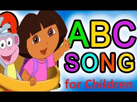 ABC Song for Children  Alphabet Dora The Explorer