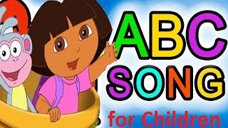 ABC Song for Children - Alphabet Dora The Explorer