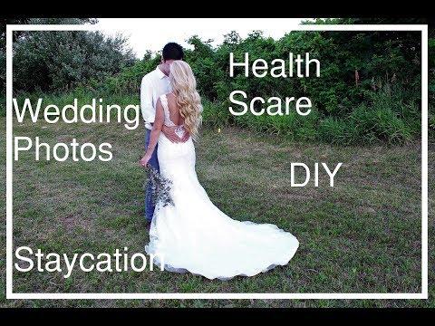 WEDDING PHOTOS, HEALTH SCARE, DIY         OH MY!!!