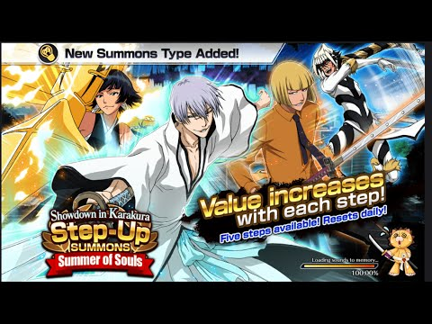 Bleach Brave Souls Anniversary Step Up Summons, Set 2, Day 1