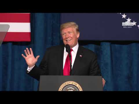 President Trump Delivers Remarks at the 2018 Project Safe Neighborhoods National Conference