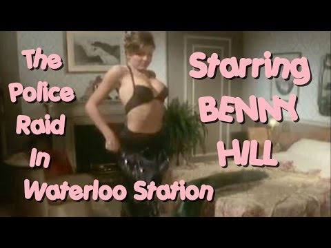 Benny Hill - The Police Raid in Waterloo Station
