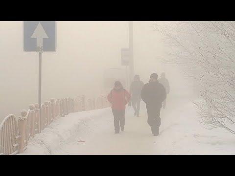 Сегодня из-за густого тумана сургутяне передвигались практически вслепую