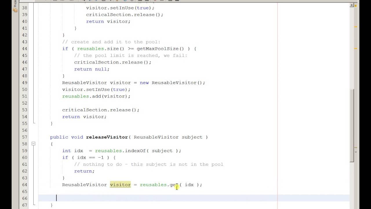 Week 12 object pool design pattern part 5 youtube for Object pool design pattern