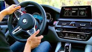 M1 + M2 Buttons Give BMW M5 2018 Killer Performance New BMW M5 F90 2018