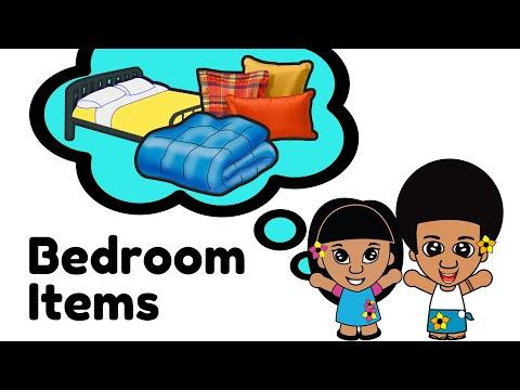 SAMOAN LANGUAGE - BEDROOM ITEMS
