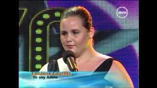 "Yo Soy ADELE [CASTING] - canta "" SOMEONE LIKE YOU "" YO SOY 11 JUNIO PERU 2012 Segunda Temporada"