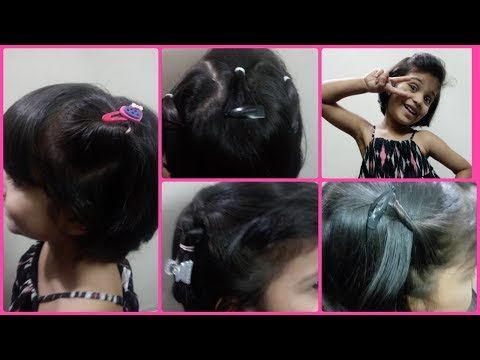 Hairstyles For Short Hair Kids Easy Girls Hairstyles
