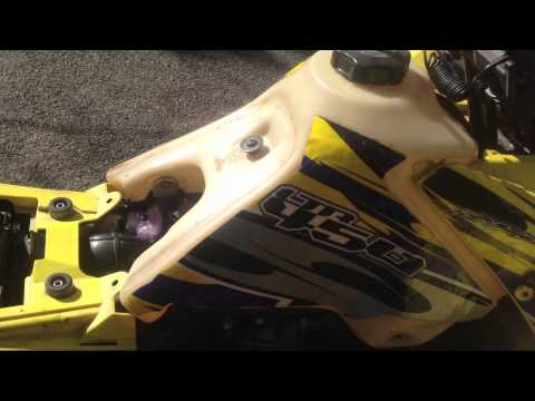 CRF450 Carb swap on a LTR 450