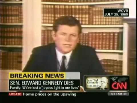 Edward Kennedy's 1969 Chappaquiddick Speech - YouTube