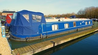 SOLD Wanderer - 60ft x 11ft luxury widebeam canal boat