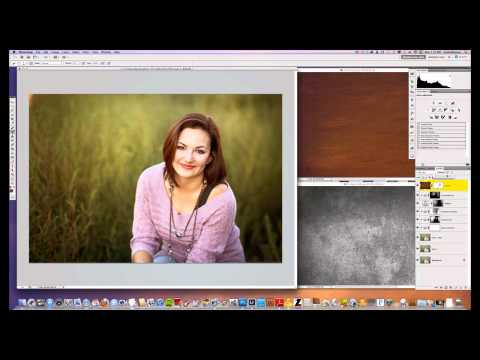 How To Add Texture Overlays In Photoshop