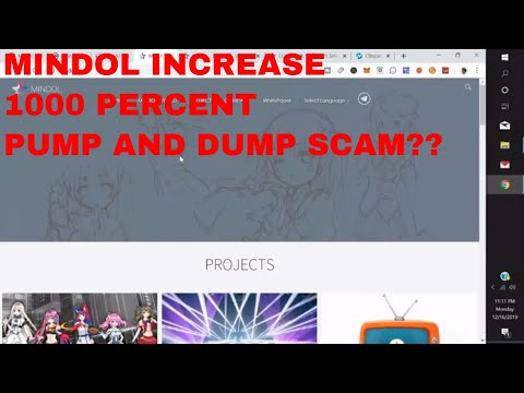 Mindol Cryptocurrency Price Prediction Pump and Dump Scam Min Token Coin