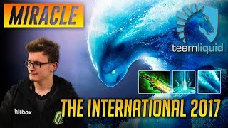 The International 2017 - Miracle Morphling - Liquid vs LGD - Dota 2 with Commentary