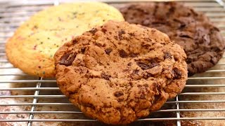 Giant Single-serving Cookies (chocolate Chip, Sugar Cookie & 2x Chocolate) - Bigger Bolder Baking 86