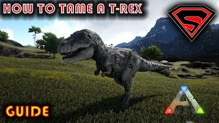 ARK HOW TO TĄME A REX - HOW TO SOLO TAME A REX 2019