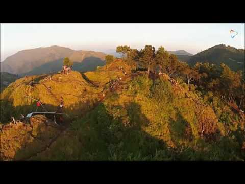 Dieng Plateau, a historical sights in central Java, Indonesia