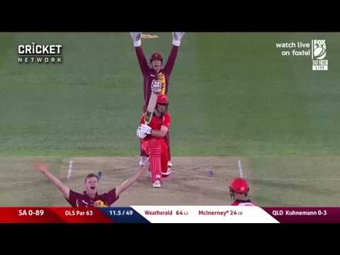 Highlights: South Australia V Queensland, JLT One-Day Cup