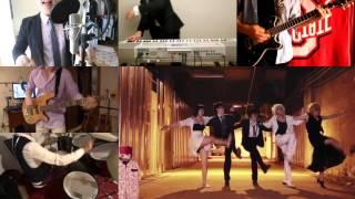 [HD] KEKKAI SENSEN ED - SUGAR SONG & BITTER STEP [Band Cover]