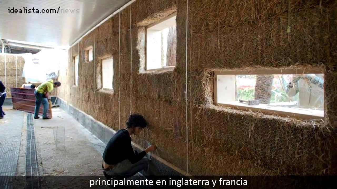La primera casa de paja urbana en roma subtitulos youtube - La casa de la construccion ...