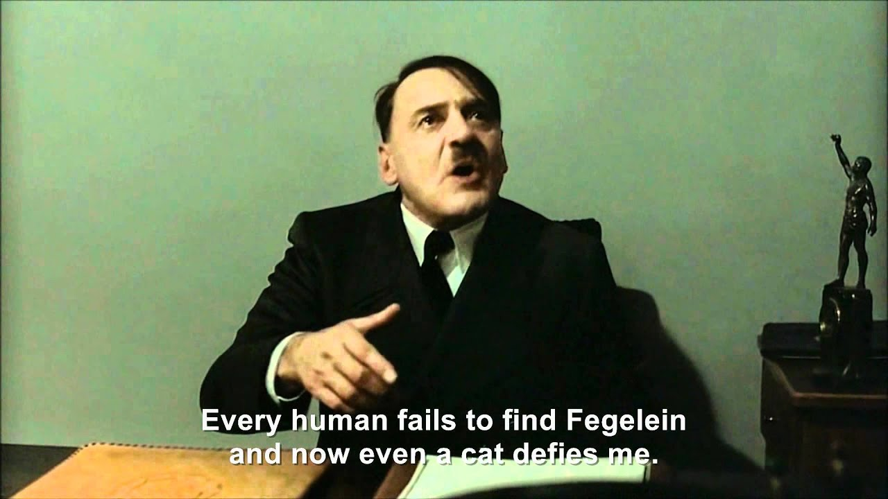 Hitler encounters WTF Kitty